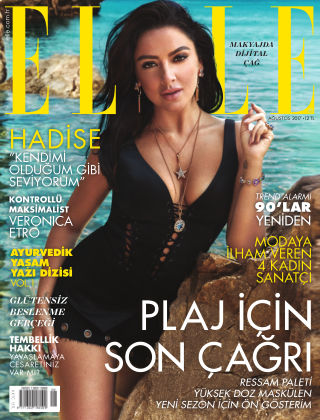 ELLE- Turkey August 2017