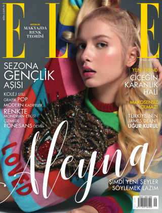 ELLE- Turkey 9th September 2017