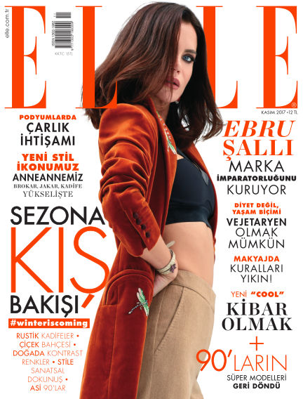 ELLE- Turkey October 31, 2017 00:00