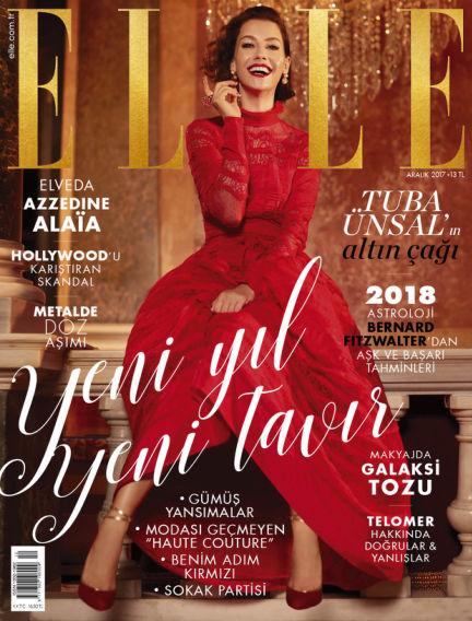 ELLE- Turkey December 01, 2017 00:00