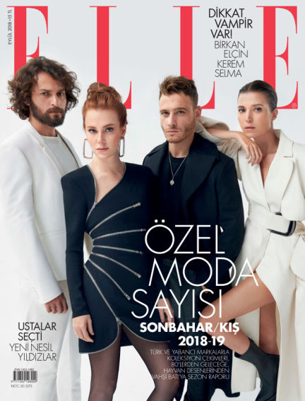 ELLE- Turkey August 31, 2018 00:00