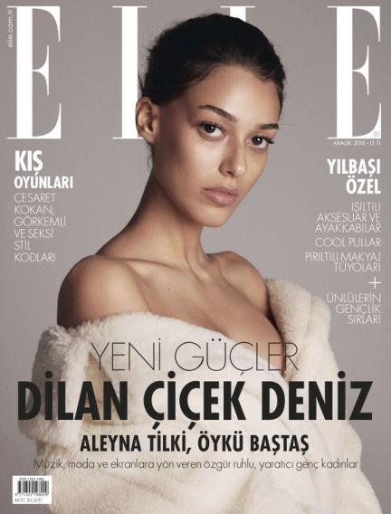 ELLE- Turkey December 04, 2018 00:00