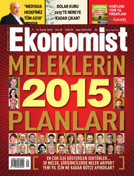 Ekonomist December 07, 2014 00:00