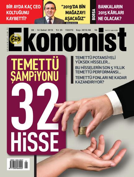 Ekonomist February 08, 2015 00:00