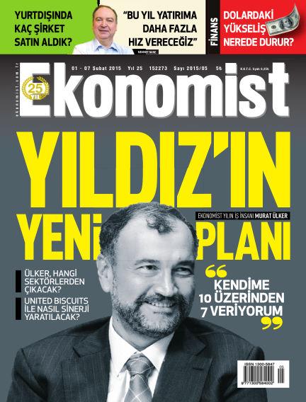 Ekonomist February 01, 2015 00:00