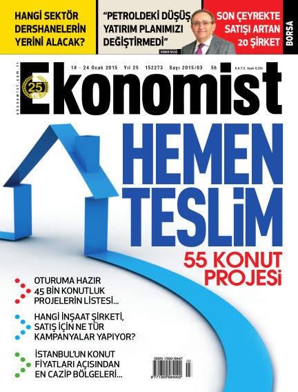 Ekonomist January 18, 2015 00:00