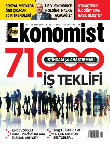 Ekonomist January 04, 2015 00:00