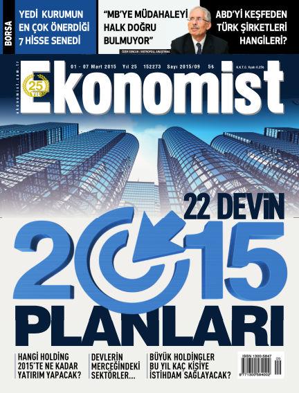 Ekonomist March 01, 2015 00:00