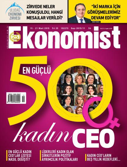 Ekonomist March 15, 2015 00:00