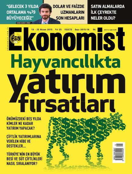 Ekonomist April 19, 2015 00:00