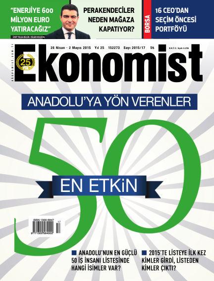 Ekonomist April 26, 2015 00:00