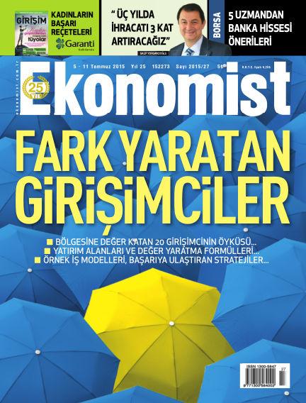 Ekonomist July 05, 2015 00:00