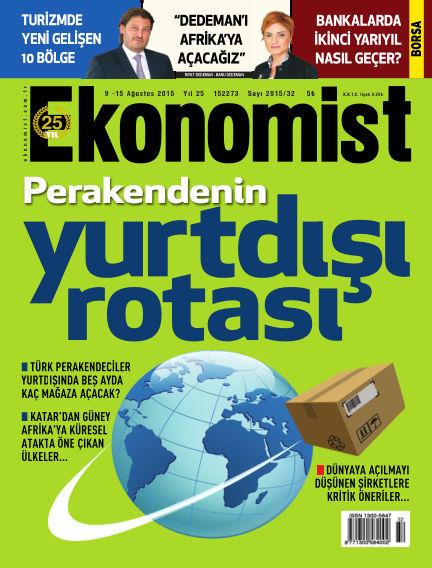 Ekonomist August 09, 2015 00:00