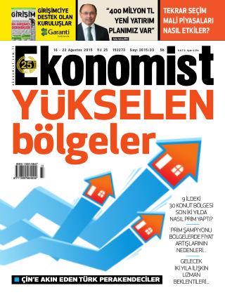 Ekonomist 16th August 2015