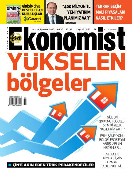 Ekonomist August 16, 2015 00:00