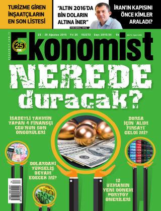 Ekonomist 23th August 2015