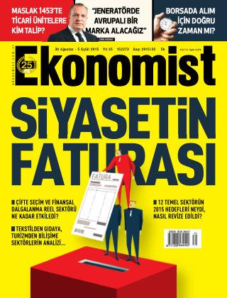 Ekonomist 30 August 2015