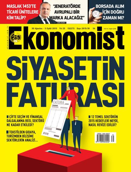 Ekonomist August 30, 2015 00:00