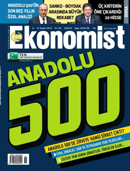 Ekonomist September 07, 2015 00:00