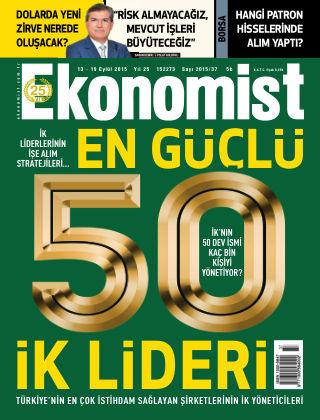Ekonomist 13 September 2015