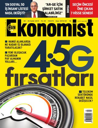 Ekonomist 20 September 2015