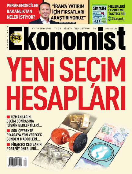 Ekonomist October 04, 2015 00:00