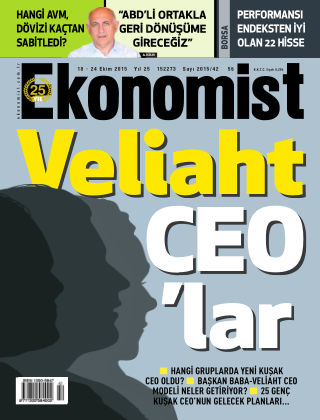 Ekonomist 18 October 2015