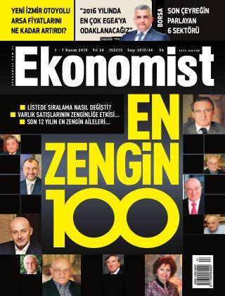 Ekonomist 1 November