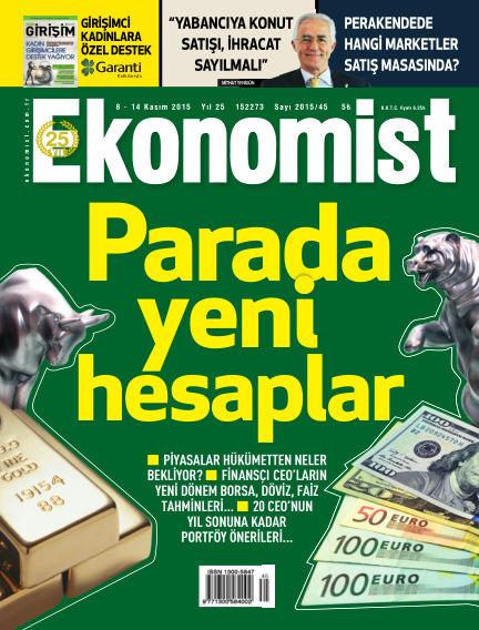 Ekonomist November 08, 2015 00:00