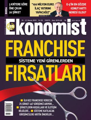 Ekonomist 15 November 2015