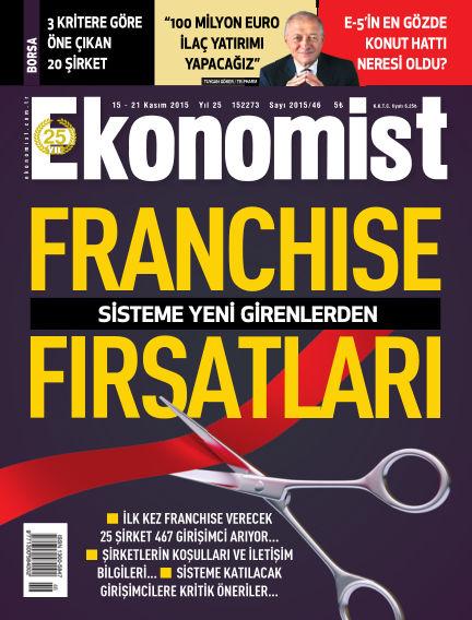 Ekonomist November 15, 2015 00:00