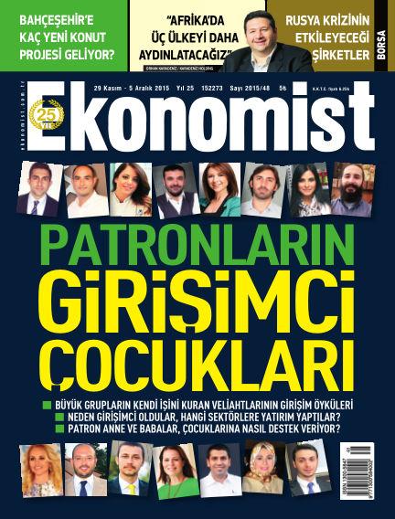 Ekonomist November 29, 2015 00:00