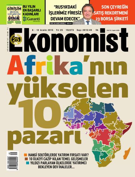 Ekonomist December 06, 2015 00:00