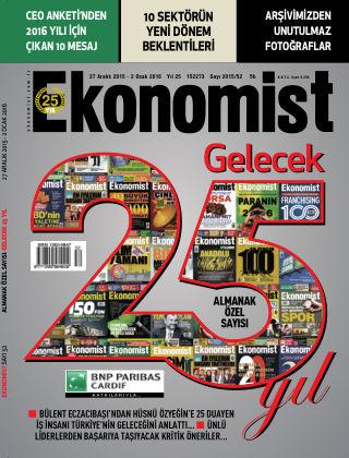 Ekonomist 27 January 2015