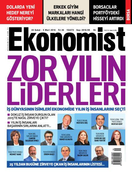 Ekonomist February 28, 2016 00:00