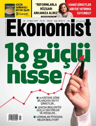 Ekonomist 13 March 2016