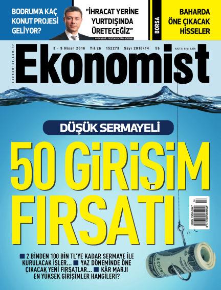 Ekonomist April 03, 2016 00:00