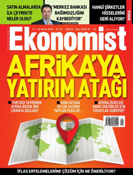 Ekonomist April 17, 2016 00:00
