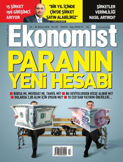 Ekonomist April 24, 2016 00:00