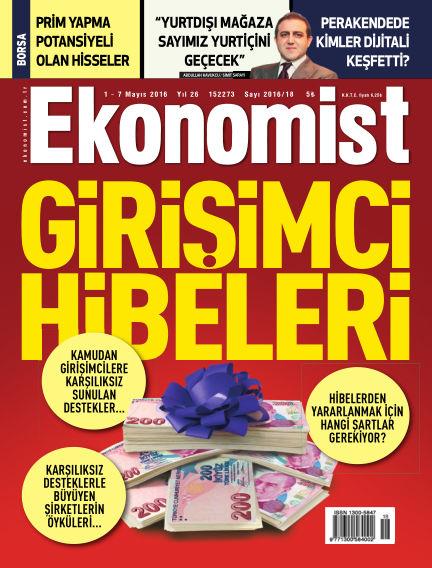 Ekonomist May 01, 2016 00:00
