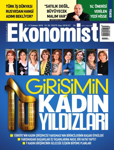 Ekonomist July 03, 2016 00:00
