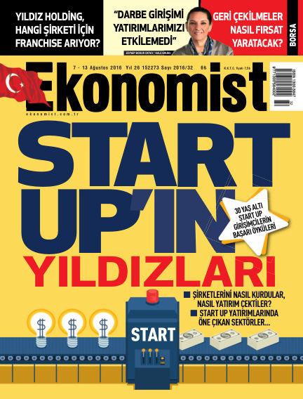 Ekonomist August 07, 2016 00:00