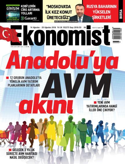 Ekonomist August 14, 2016 00:00
