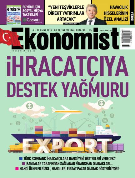 Ekonomist September 04, 2016 00:00