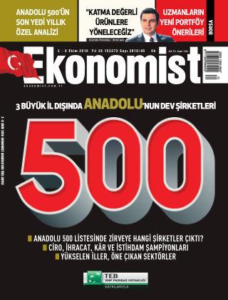 Ekonomist 02 October 2016