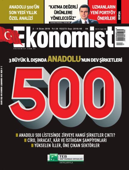 Ekonomist October 02, 2016 00:00
