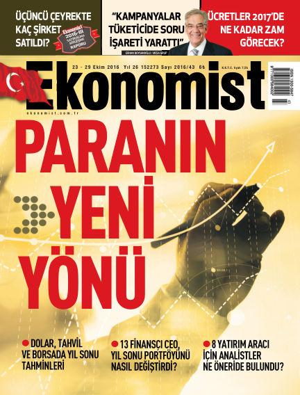 Ekonomist October 23, 2016 00:00