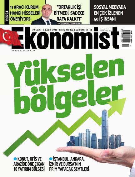 Ekonomist October 30, 2016 00:00