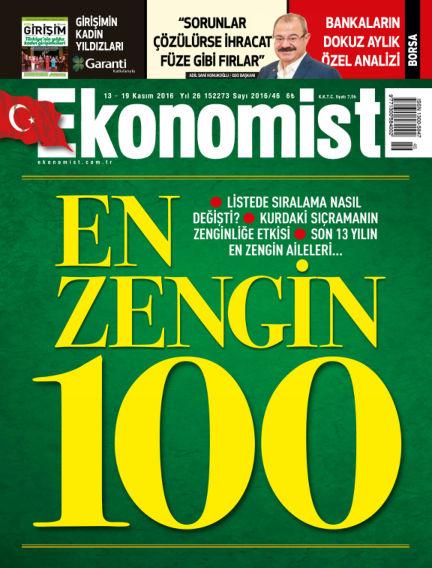 Ekonomist November 13, 2016 00:00