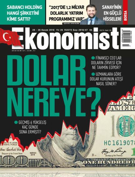 Ekonomist November 20, 2016 00:00